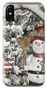 Let It Snow Let It Snow Let It Snow IPhone Case