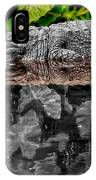 Let Sleeping Gators Lie - Mod IPhone Case
