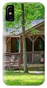 Letchworth State Park Cabin IPhone Case