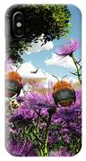 Two Bumblebees Discover The World IPhone Case