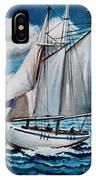 Let's Set Sail IPhone Case