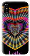 Letty IPhone Case by Visual Artist Frank Bonilla