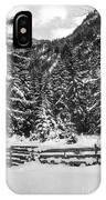 Leutasch Snow Trail 2 IPhone Case