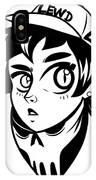 Lewd Girl IPhone Case