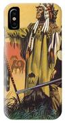 Lewis And Clark Expedition Scene IPhone X Case