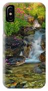 Lewis Monkey Flowers And Cascade IPhone Case