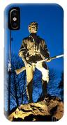 Lexington Minuteman IPhone Case