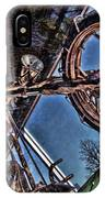 Liberty Ambassador Copper Motorcycle Statue Of Liberty Ny IPhone Case