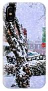 Liberty Square In Winter IPhone Case