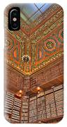 Library Details IPhone Case