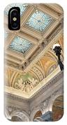 Library Of Congress Great Hall IIi IPhone Case