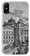 Library Of Congress Proposal 5 IPhone Case