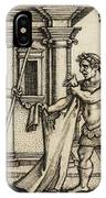 Lichas Bringing The Garment Of Nessus To Hercules IPhone Case