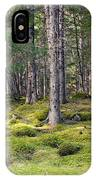 Lichen Covered Mountain Floor IPhone Case
