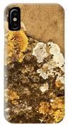 Lichen On The Piran Walls IPhone Case