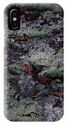 Lichen Texture IPhone Case