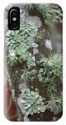 Lichens 4 IPhone Case