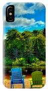 Life In The Adirondack Mountains IPhone Case