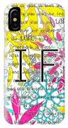 Life Is A Gift IPhone Case