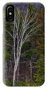Life's A Birch No.1 IPhone Case