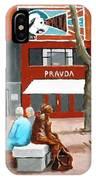 Liffey Street, Dublin IPhone Case