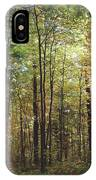Light Among The Trees Vertical IPhone Case
