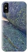 Light And Lichen On Eroded Basalt IPhone Case