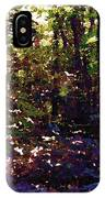 Light And Trees Wcsa  IPhone Case