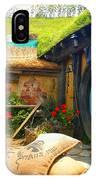 Light Blue Hobbit Door IPhone Case