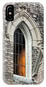 Light From Within, Gothic Church Architecture IPhone Case