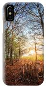 Light In The Cypress Trees II IPhone Case