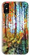 Light In The Woods IPhone Case