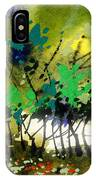 Light In Trees IPhone Case