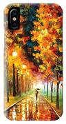 Light Of Autumn IPhone Case