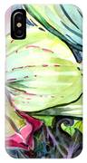 Light Of Orchids IPhone Case