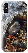 Light On Rocks And Ice  IPhone Case