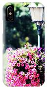 Lighted Flowers IPhone Case