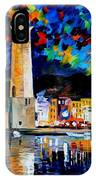 Lighthouse In Crete IPhone Case