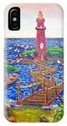 Lighthouse Island IPhone Case