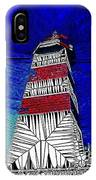 Lighthouse Stained Glass  IPhone Case
