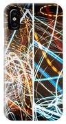 Lightpainting Quads Art Print Photograph 3 IPhone Case