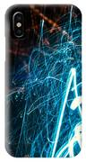 Blue Fuzz Of Depth IPhone Case
