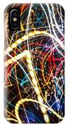 Lightpainting Single Wall Art Print Photograph 3 IPhone Case