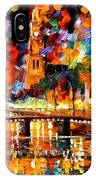 Lights And Shadows Of Amsterdam IPhone Case