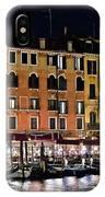 Lights Of Venice IPhone Case