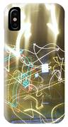 Lights That Attack Cars IPhone Case