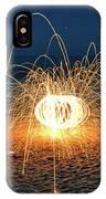 Lighty Fireworks IPhone Case