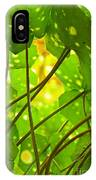 Ligularia Tussilaginea IPhone Case