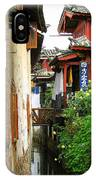 Lijiang Back Canal IPhone Case