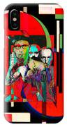 Like Burrow In It's Abstract Burroughs The Word On It's Side IPhone Case